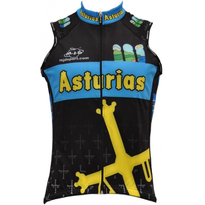 Chaleco Mixto MJD Asturias Frontal